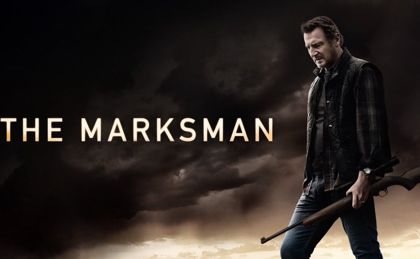 """""""The Quick Flick Critic"""" Reviews """"The Marksman"""" on """"The MovieBlog""""!"""